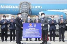 Entregan a entidades vietnamitas donativos recibidos en viaje del presidente del Parlamento