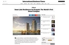 Medios internacionales alaban complejo de aguas termales en proyecto inmobiliario de Vietnam