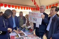 Resaltan participación del periódico Nhan Dan en Fiesta del diario francés L'Humanité