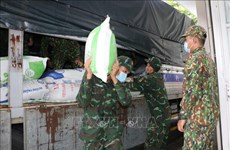 Vietnam suministrará arroz y bienes de reserva nacional a pobladores afectados por el COVID-19