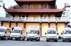 Sangha Budista de Vietnam en Ciudad Ho Chi Minh apoya lucha contra COVID-19