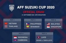 Vietnam entre los cabezas de serie de la AFF Suzuki Cup 2020