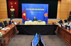 ASEAN y socios debaten cooperación económica y crecimiento sostenible