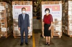 Fundación singapurense Temasek apoya a Vietnam en lucha contra el COVID-19