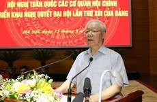 Exigen promover papel central de agencias de asuntos internos de Vietnam