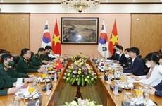 Vietnam y Corea del Sur buscan fortalecer cooperación en defensa