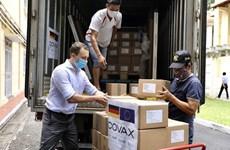 Recibe Vietnam 852 mil dosis de vacuna contra COVID-19 donadas por Alemania