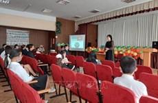 Inauguran clases de idioma vietnamita en la escuela Ho Chi Minh en Ucrania