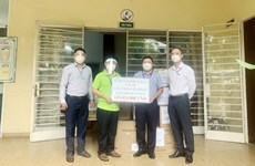 Llegan más donaciones para lucha contra el COVID-19 en Ciudad Ho Chi Minh