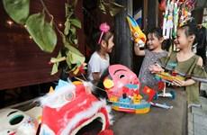 Efectúan exposiciones virtuales para niños con motivo del Festival del Medio Otoño