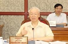 Dirigentes de Vietnam debaten situación socioeconómica