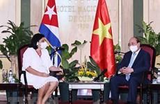 Presidente vietnamita destaca relaciones de amistad con Cuba