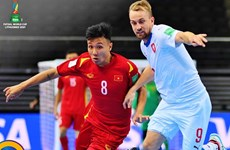 Vietnam avanza a los octavos de la Copa Mundial de Fútsal