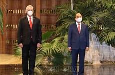 Prensa cubana dedica especial atención a visita del Presidente de Vietnam