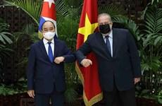 Concluye presidente de Vietnam visita oficial a Cuba