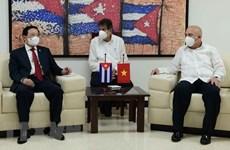 Vietnam y Cuba intercambian experiencias en construcción partidista