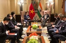 Canciller vietnamita cumple amplia agenda de encuentros en Nueva York