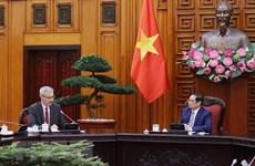 Primer ministro de Vietnam aspira a fortalecer cooperación con Francia en sector de salud