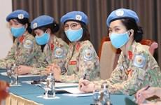 Vietnam crea condiciones para mayor participación de mujeres en asuntos de paz y seguridad global