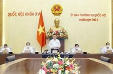 Asamblea Nacional de Vietnam concluye tercera reunión de su Comité Permanente