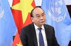 Presidente de Vietnam enfatiza la necesidad de intensificar la cooperación global contra pandemia