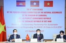 Inauguran octava Conferencia regional de Comisiones de Asuntos Exteriores de Parlamentos
