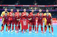 Vietnam dice adiós a Copa Mundial de Fútbol Sala tras derrota ante Rusia