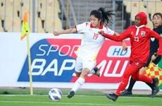 Copa Asiática Femenina de Fútbol: Vietnam derrota a Maldivas