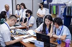 Efectuarán feria de promoción comercial del sector textil de Vietnam y Taiwán (China)