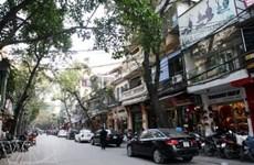 Calle de Hang Trong, destino recomendado a los visitantes en Hanoi