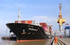 Atracan tres portacontenedores de Maersk Line en puerto vietnamita de Hai Phong