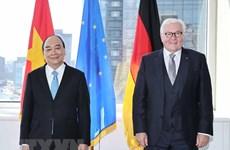 Presidente vietnamita se reúne con su homólogo alemán y concluye agenda en EE.UU.