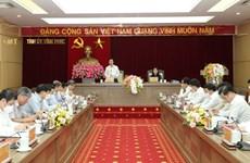 Revisan labores de construcción partidista en localidad vietnamita
