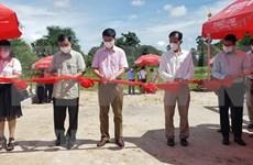 Vietnam financia construcción de puente de amistad en provincia camboyana de Kampot