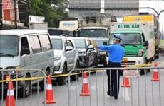 Ministerio de Transporte de Vietnam exige eliminar congestión del tráfico en puestos de control