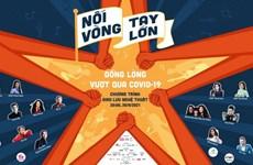 Programa artístico promueve unidad nacional de Vietnam para combatir el COVID-19