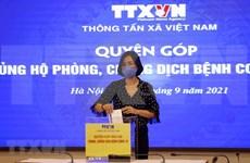 Trabajadores de la VNA contribuyen al programa de lucha contra el COVID-19