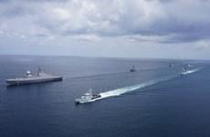 Singapur y Malasia realizan ejercicio naval en el estrecho de Malaca
