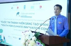 Honran iniciativas climáticas destacadas de jóvenes vietnamitas