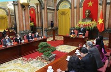 Presidente de Vietnam resalta rol de personas mayores en sociedad