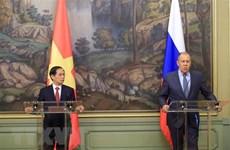 Medio ruso destaca visita de canciller vietnamita