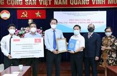 Empresas extranjeras respaldan lucha contra COVID-19 en Ciudad Ho Chi Minh