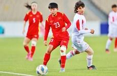 Vietnam gana boleto para asistir a la final de la Copa Asiática de fútbol femenino 2022