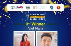 Estudiantes vietnamitas en tercer premio en concurso regional de periodismo juvenil