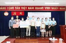 Ciudad Ho Chi Minh continúa recibiendo asistencia de empresas en lucha contra el COVID-19