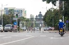 Capital de Laos mantiene estrictas medidas de prevención del COVID-19