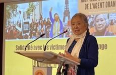 Alaban apoyo de organización francesa a víctimas del Agente Naranja en Vietnam