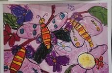 Vietnamitas ganan Grand Premio de concurso internacional de pintura infantil