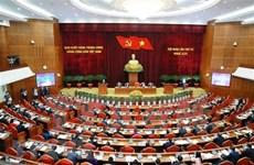 Concluye primer día de trabajo del cuarto pleno del Comité Central del Partido Comunista de Vietnam