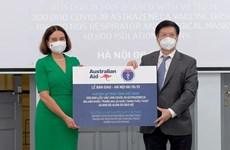 Vietnam recibe más de 300 mil dosis de vacuna COVID-19 de Australia